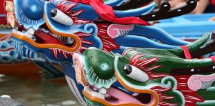 ©fotolia.com_Taiwan - Taipei, course de bateau dragon © Stéphan SZEREMETA