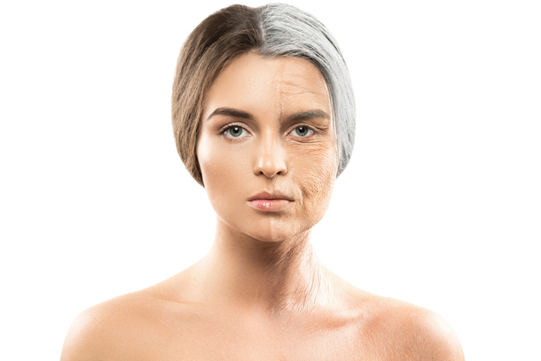 Straffere Haut durch richtige Behandlung.