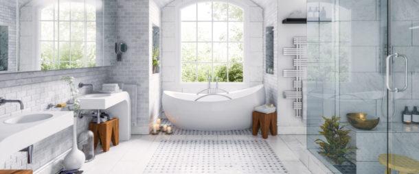 Der neue Trend: große Badezimmer