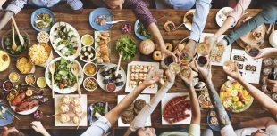 Probieren und genießen Sie hochwertige Lebensmittel.