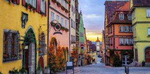 Altstadt von Rothenburg ob der Tauber