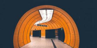 Ubahn Tunnel sind komplexe Gebäude