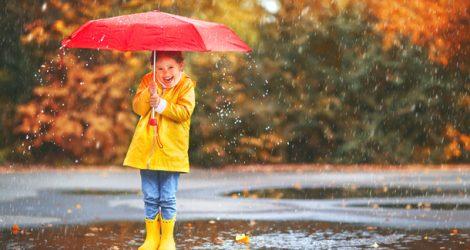 Richtig kleiden im Herbst.